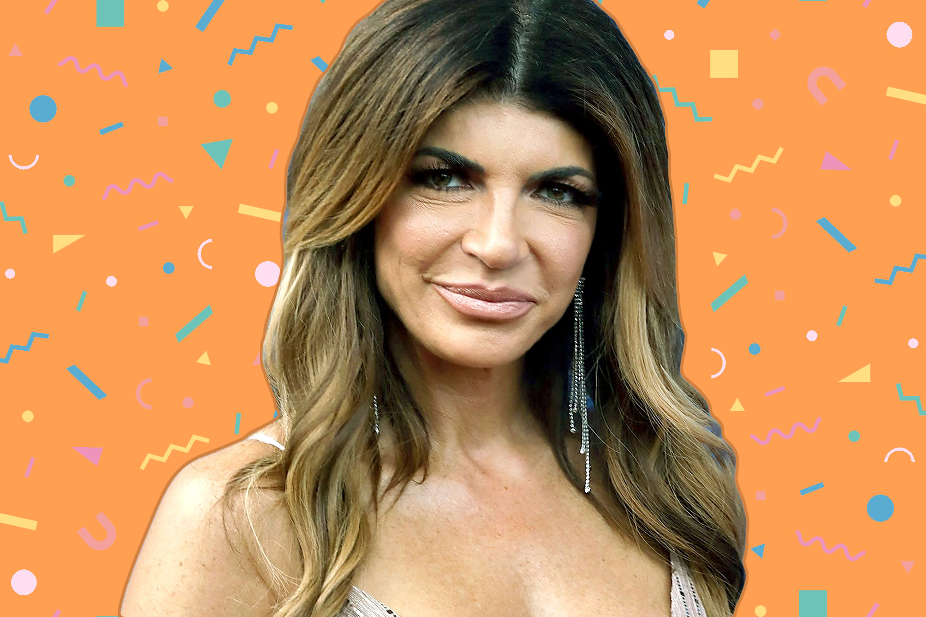 Teresa Giudice Celebrates Her Birthday in a Lace Bodysuit