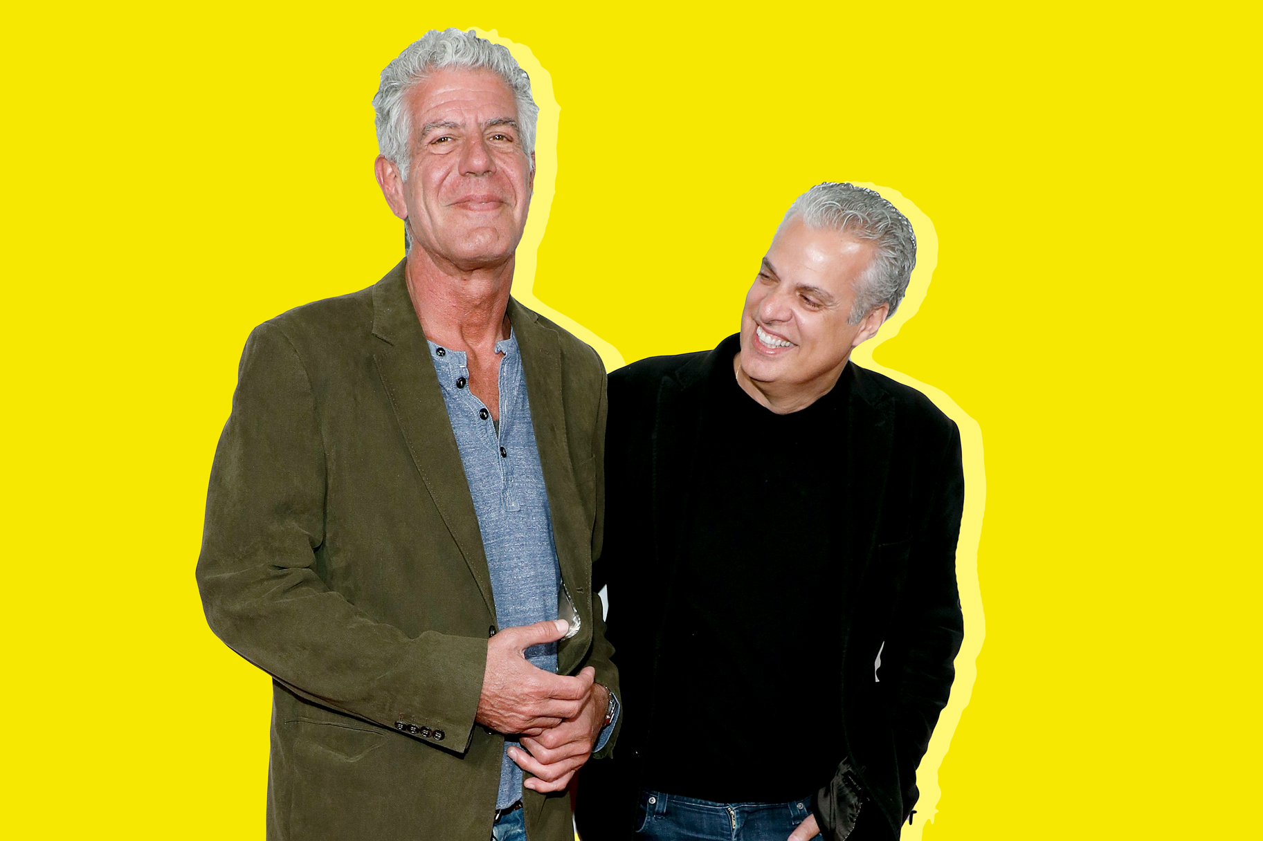 Eric Ripert, Anthony Bourdain