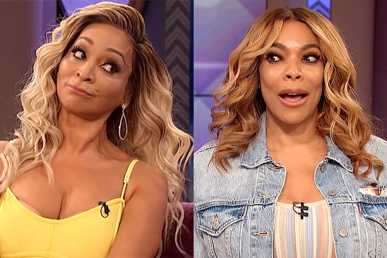 Karen Huger and Wendy Williams