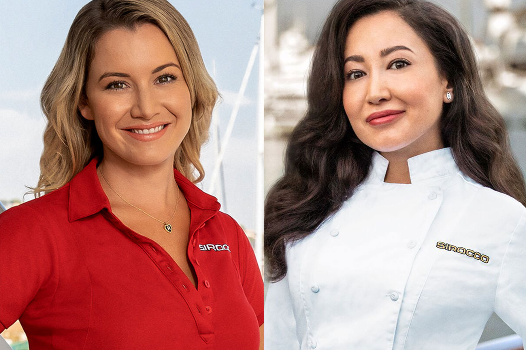 Below Deck Med Chef Mila Kolomeitseva, Chief Stew Hannah Ferrier