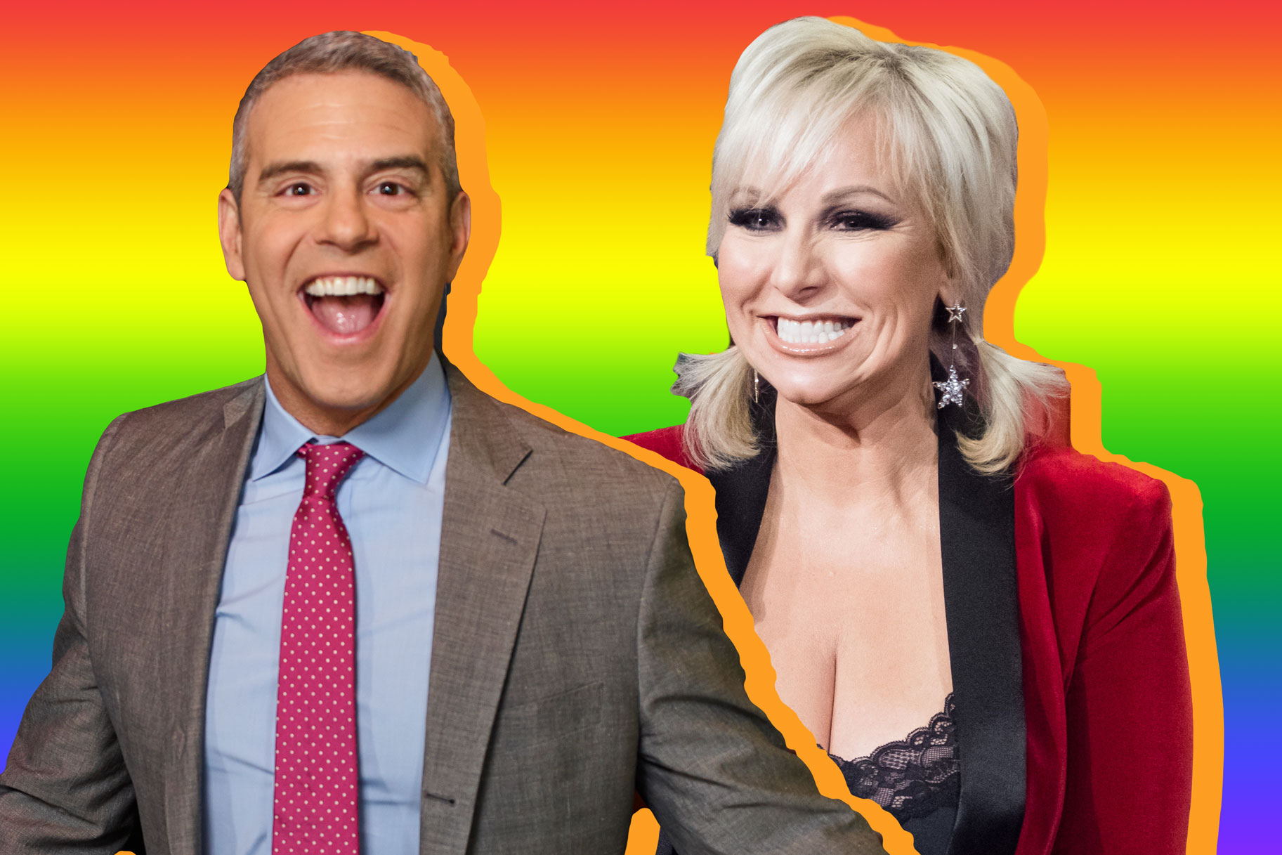 Margaret Josephs Andy Cohen