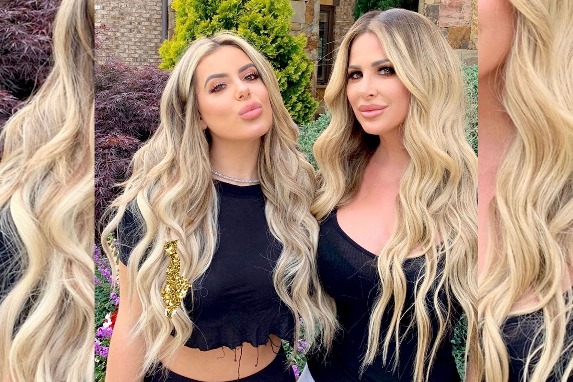 Kim and Brielle Biermann