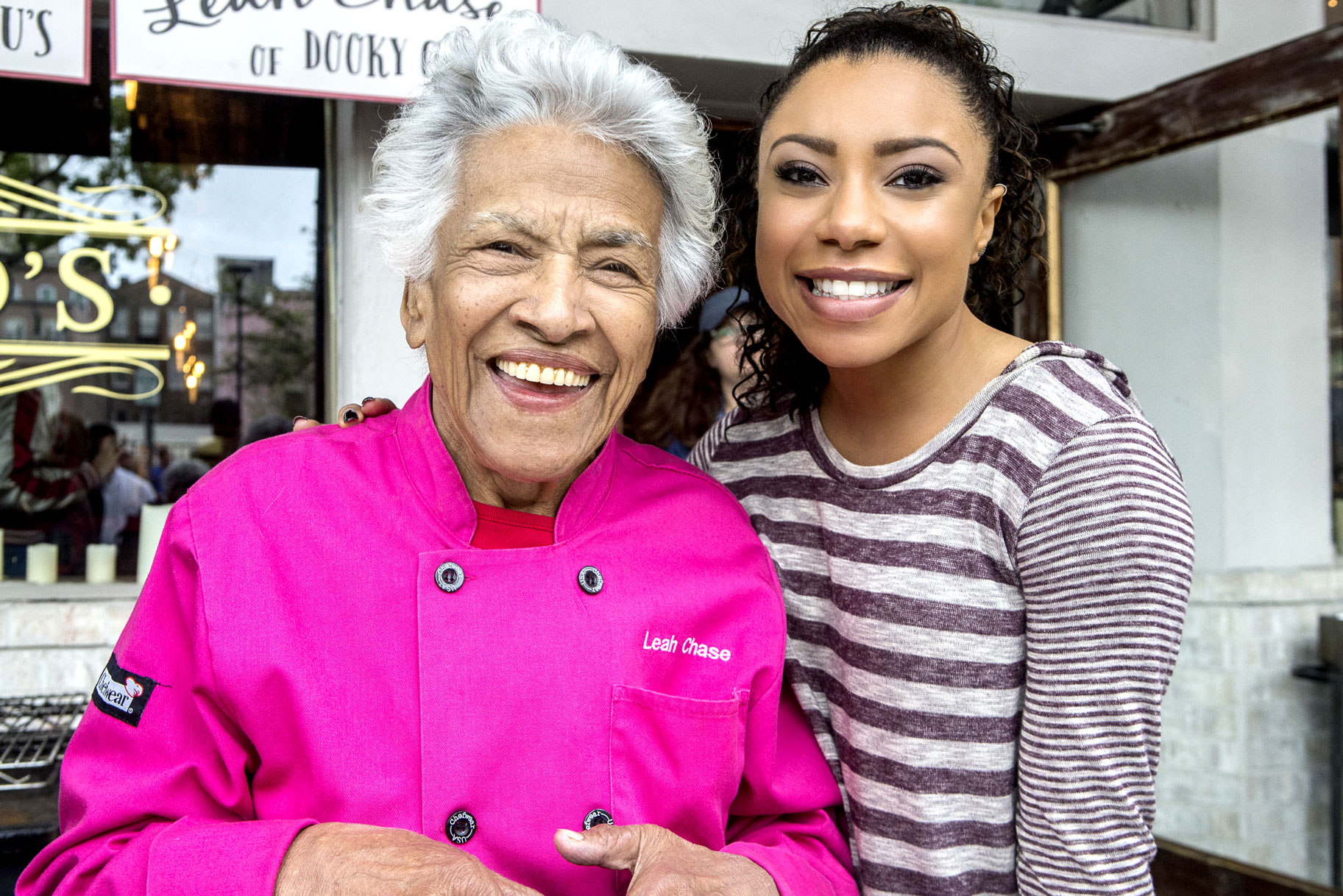 Chef Leah Chase, Gizelle Bryant