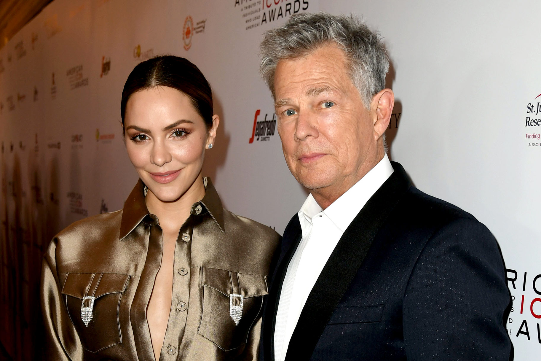 David Foster, Katharine McPhee already married?