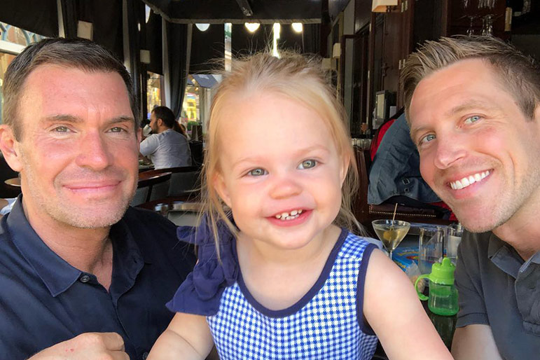 Jeff Lewis, Gage Edward, Monroe custody