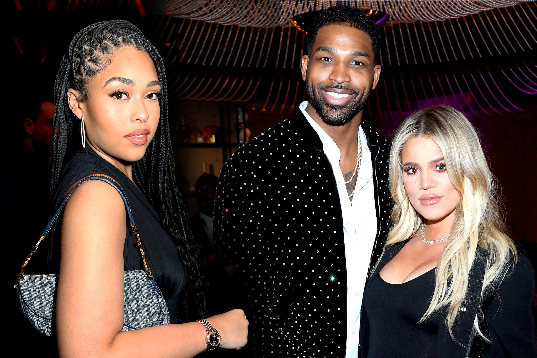 Jordyn, Tristan and Khloe