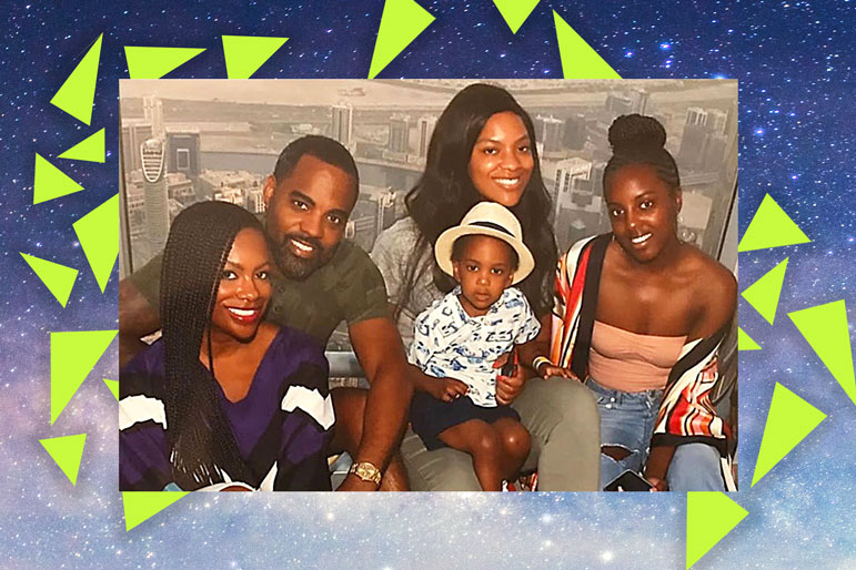 Kandi Burruss family vacation