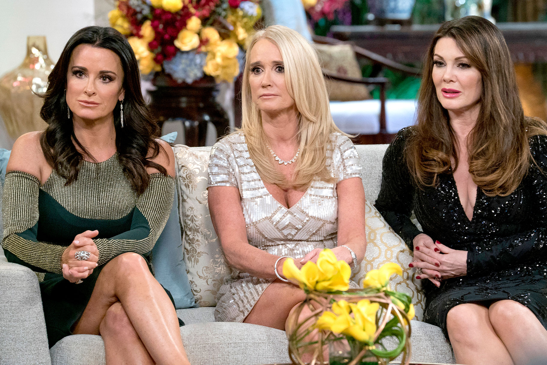 Kyle Richards, Kim Richards, Lisa Vanderpump