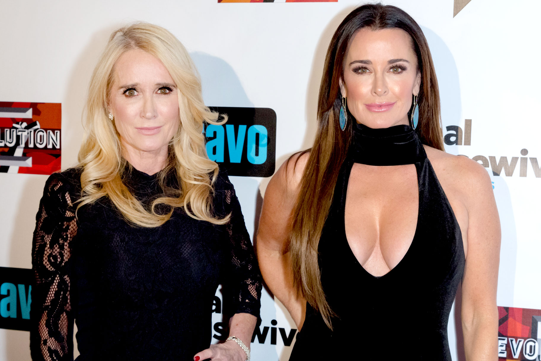 Kim Richards and Kyle Richards