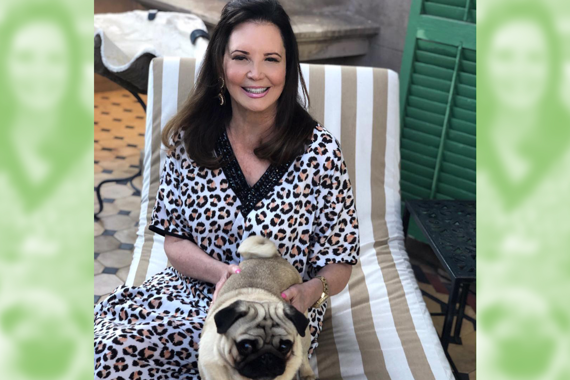 Patricia Altschul and Chauncey Pug