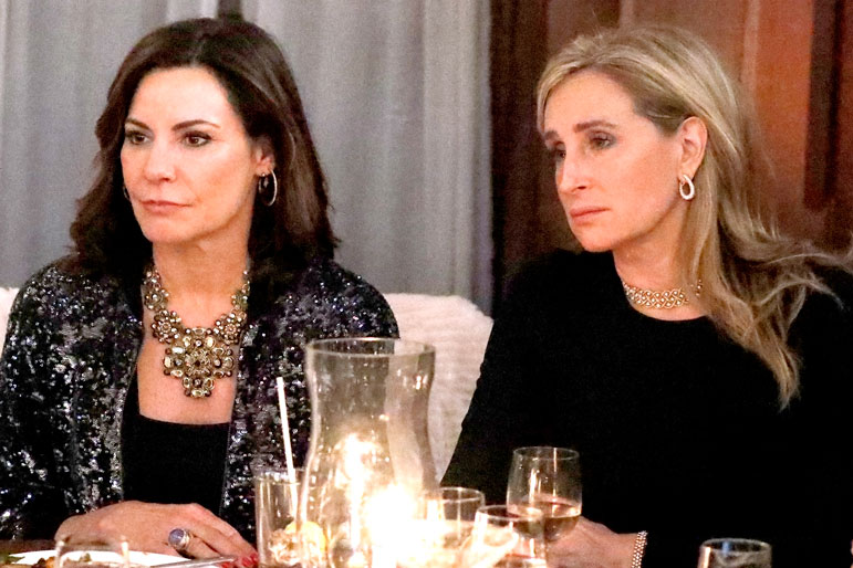 Luann de Lesseps and Sonja Morgan on The Real Housewives of New York City