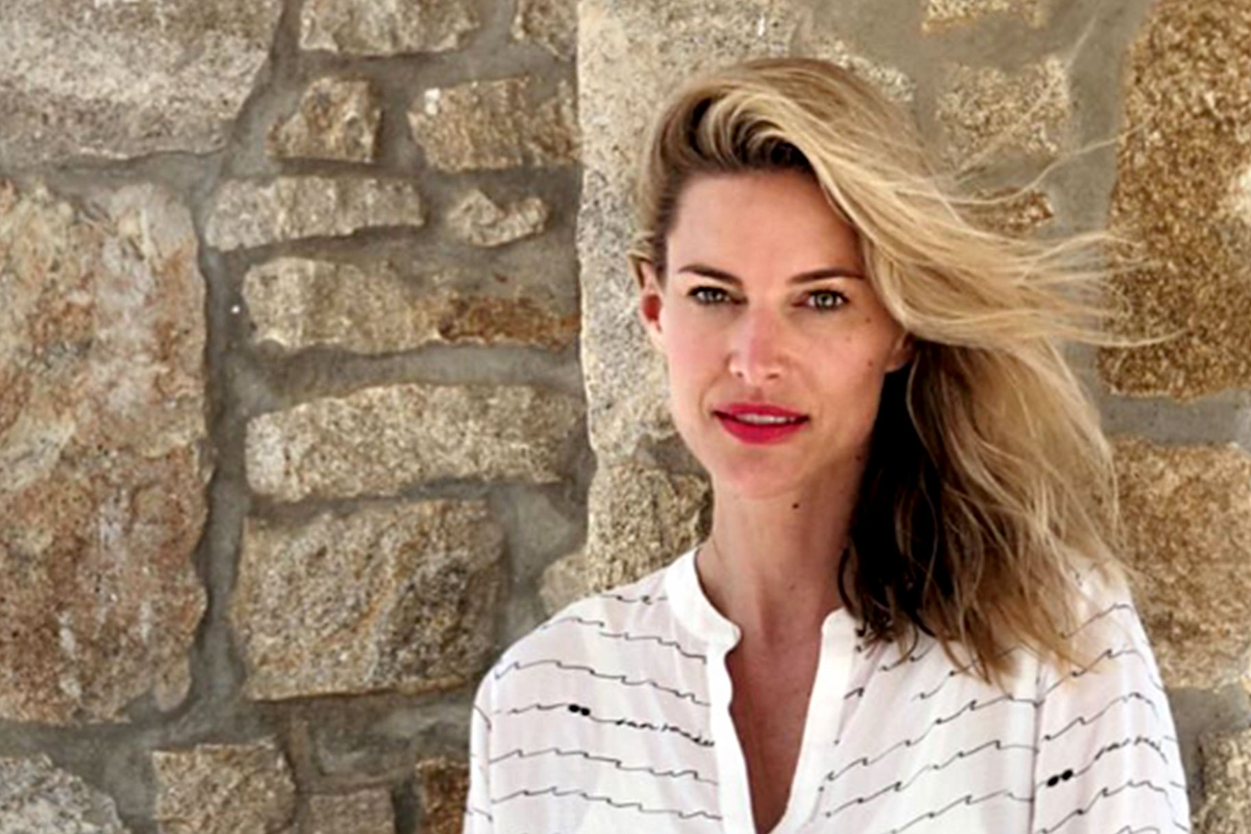 Kristen Taekman Shares Sexy Swimsuits in Greece