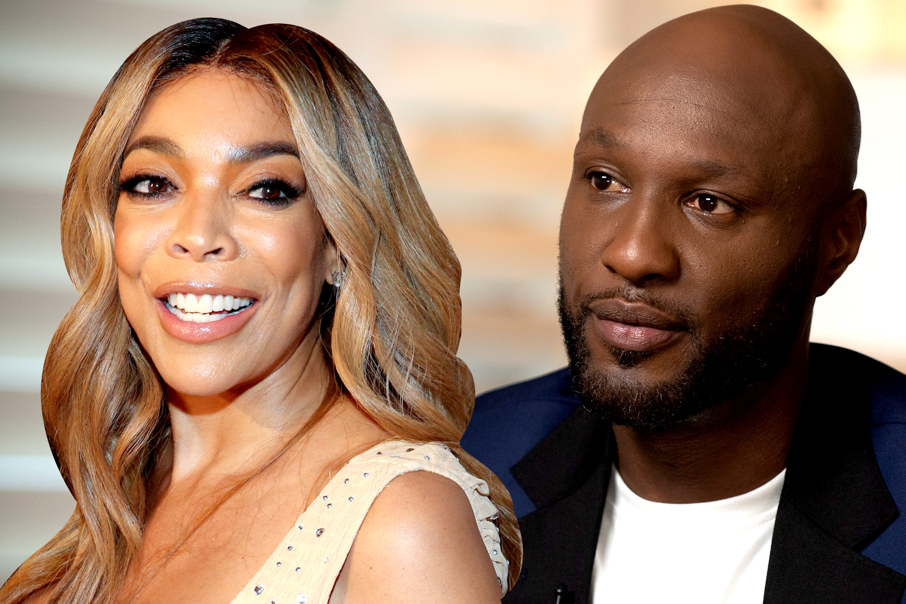 Wendy Williams and Lamar Odom