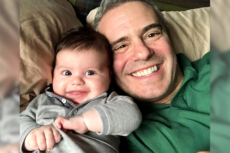 Benjamin and Andy Cohen