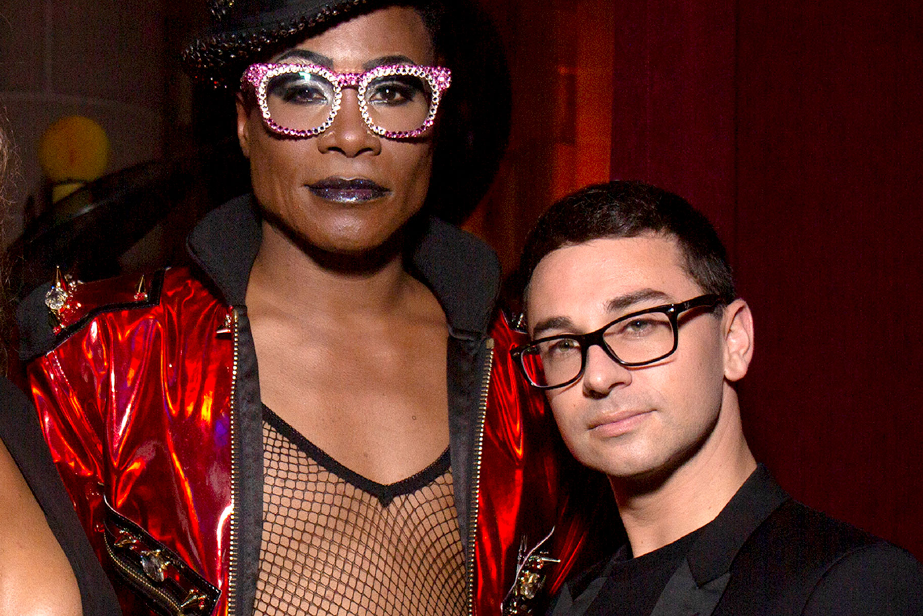 Christian Siriano and Billy Porter
