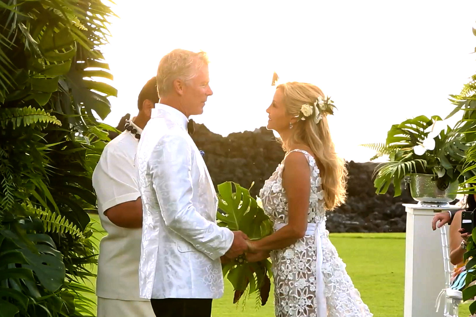 Camille Grammer and David C. Meyer's Wedding in Hawaii