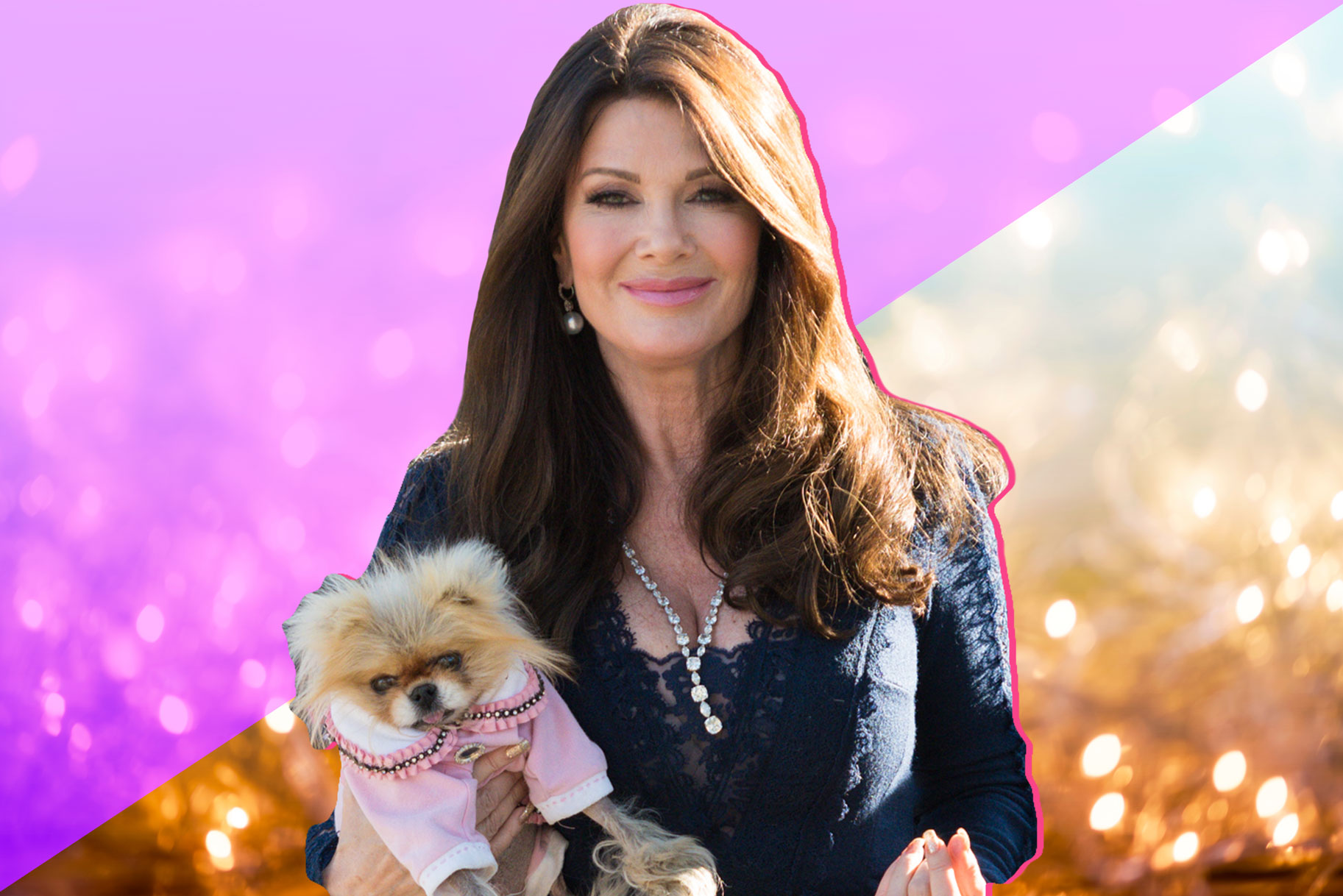 Lisa Vanderpump on Vanderpump Cocktail Garden Caesars Palace Las Vegas