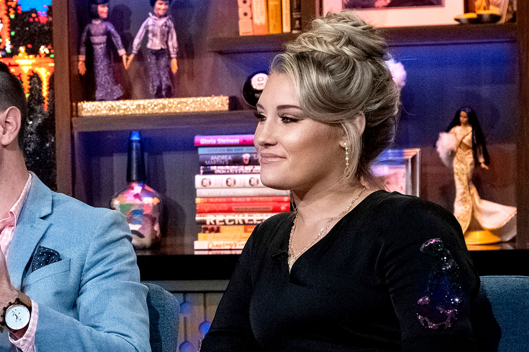 June Foster on Watch What Happens Live with Andy Cohen