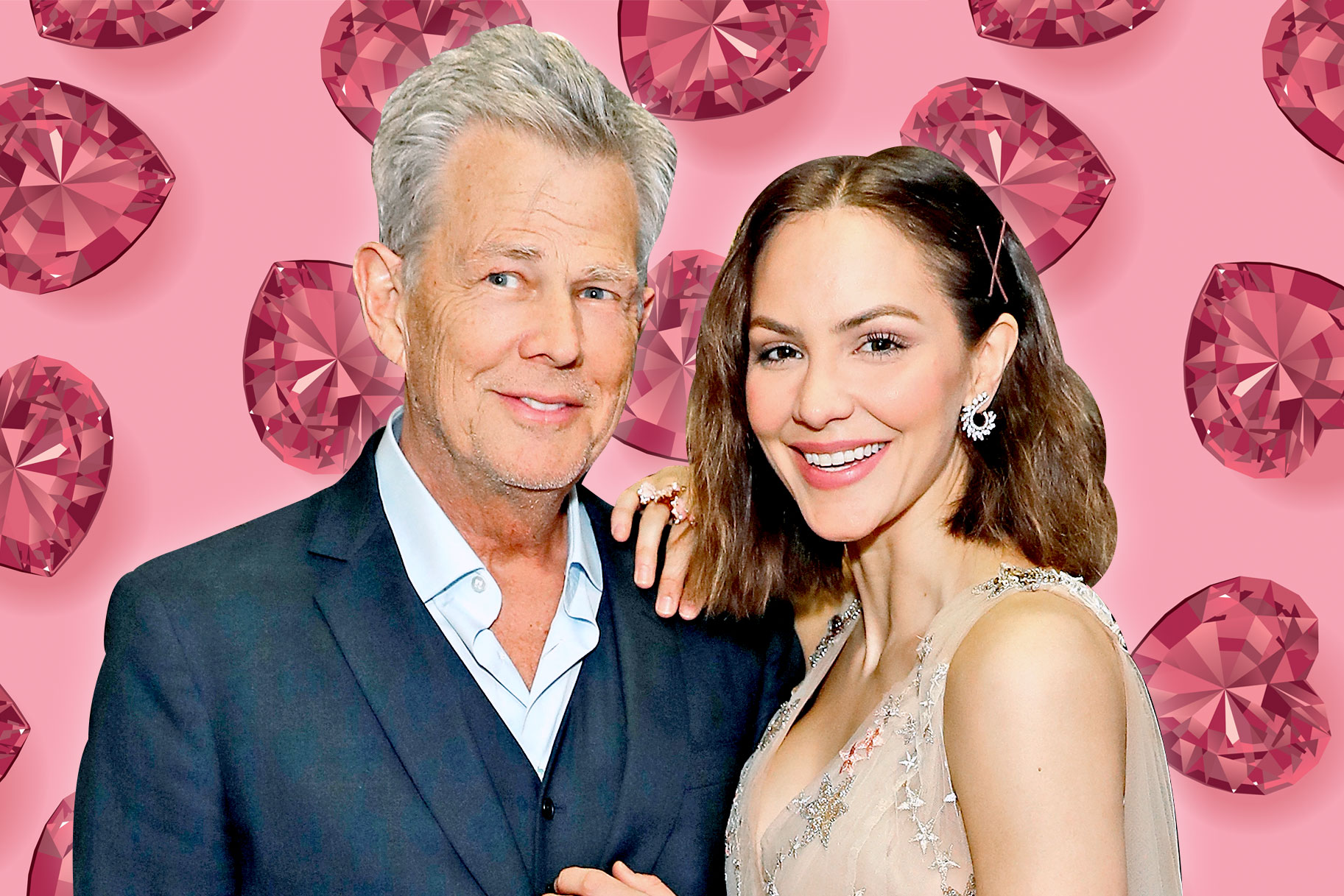See Katharine McPhee and David Foster's Outrageous Wedding Cake