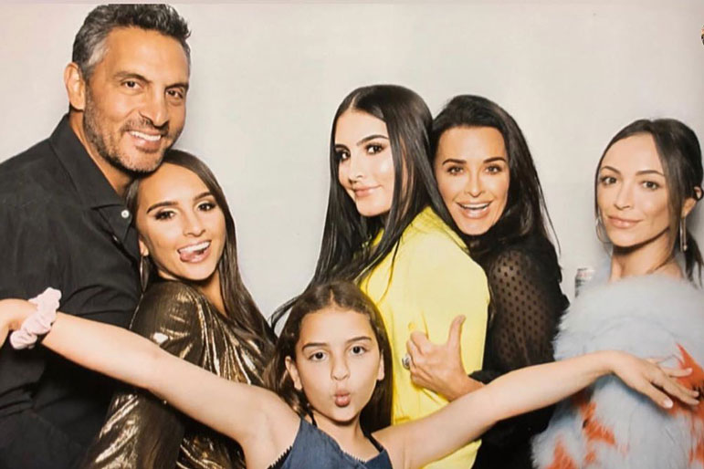 Kyle Richards family photo