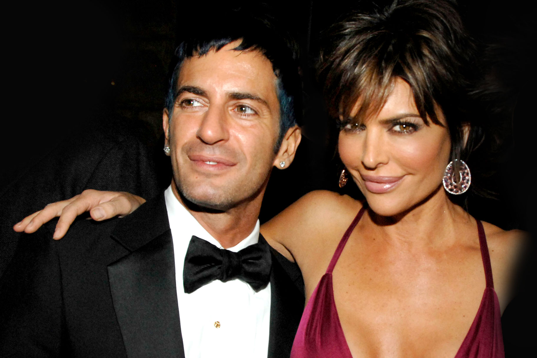 Marc Jacobs and Lisa Rinna