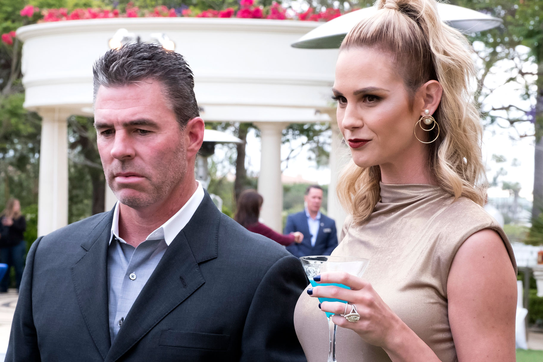 Meghan King Edmonds with Husband Jim Edmonds on The Real Housewives of Orange County