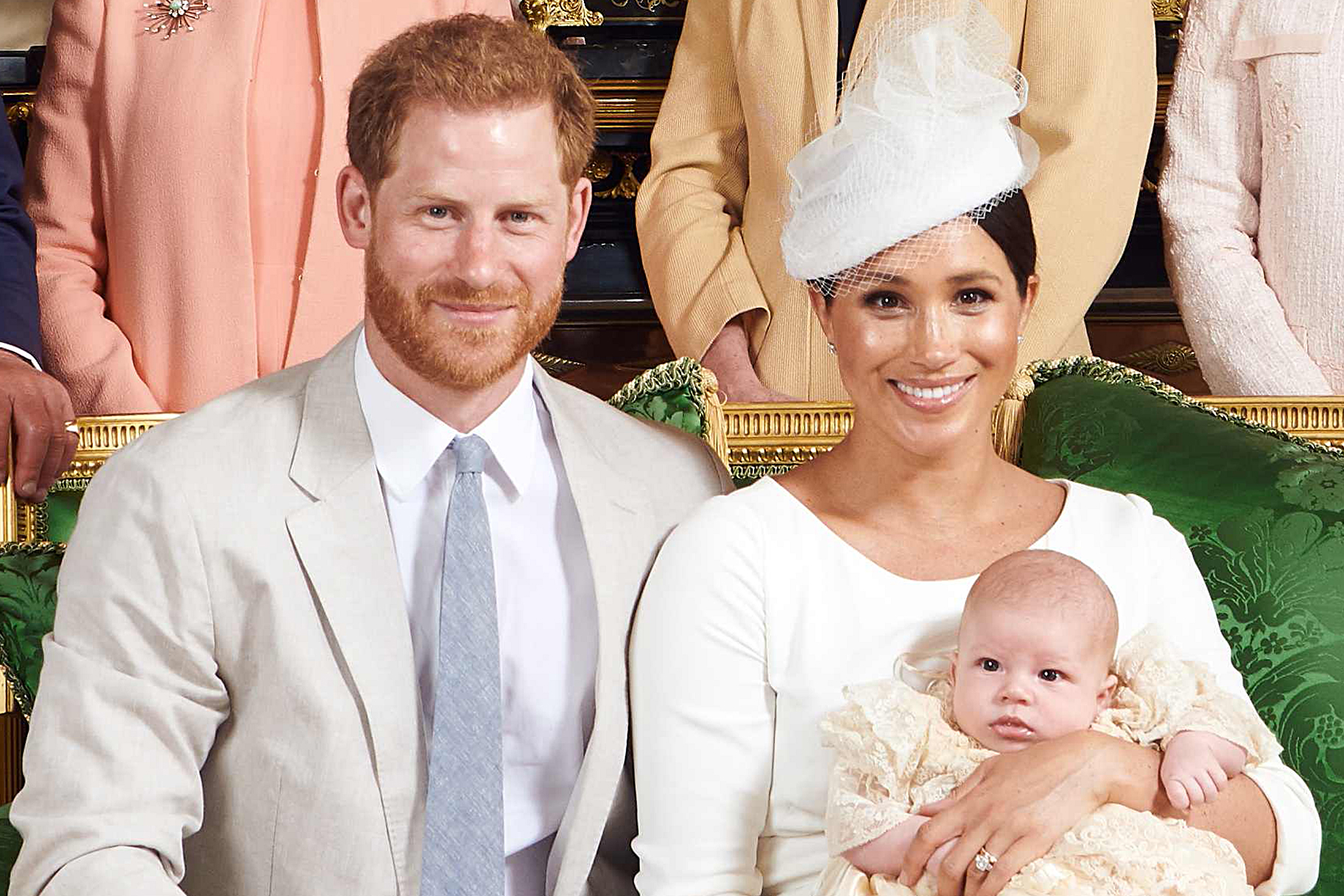 Archie Harrison Mountbatten-Windsor christening