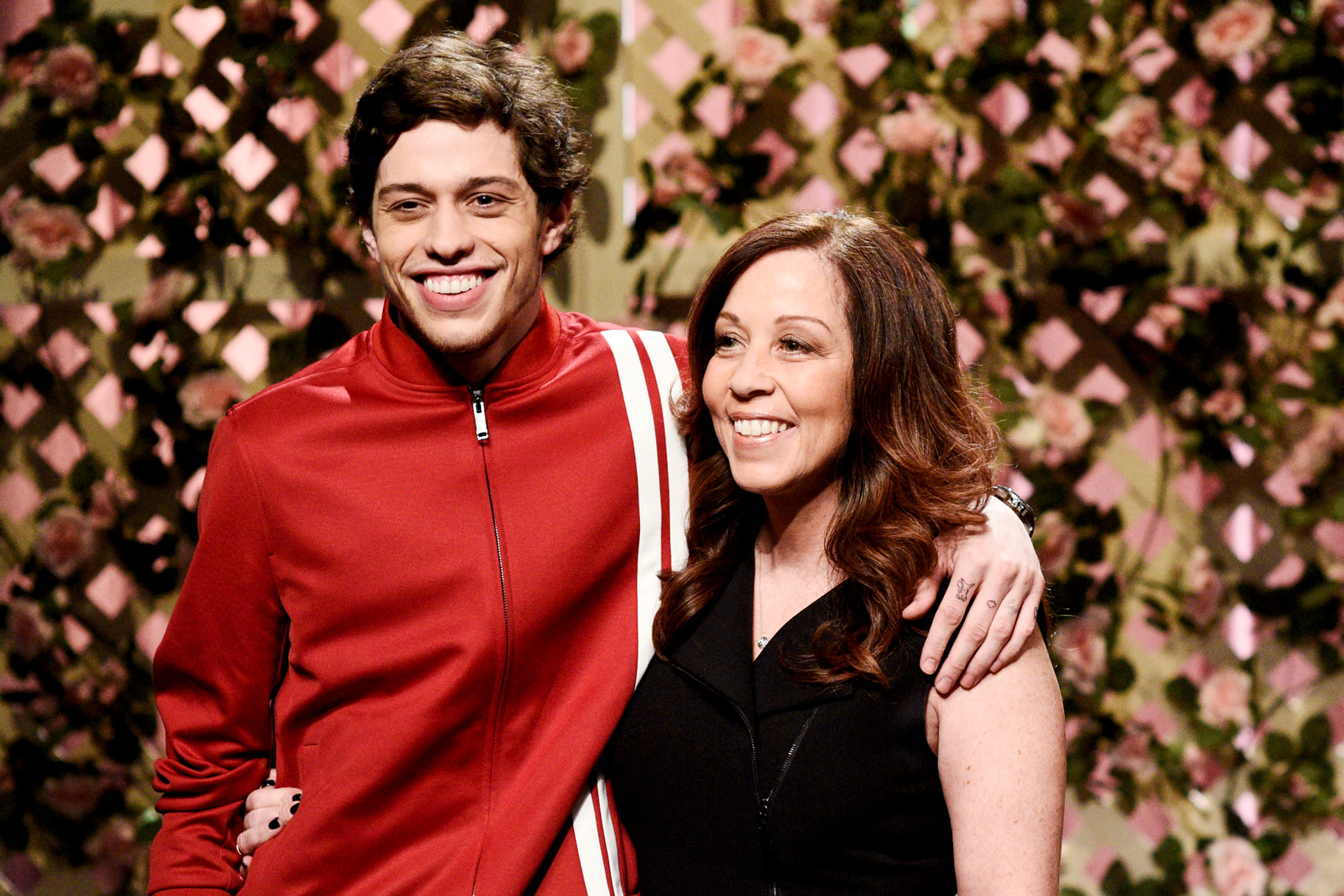 Pete Davidson and his mom