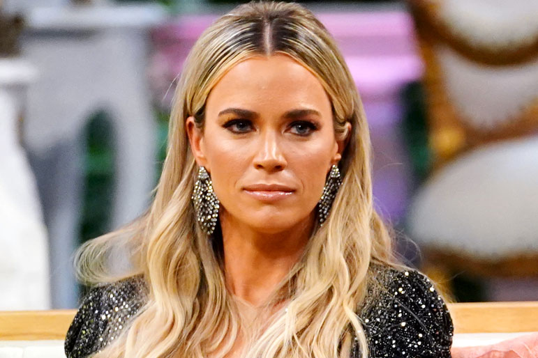 Teddi Mellencamp Arroyave at The Real Housewives of Beverly Hills Season 9 Reunion