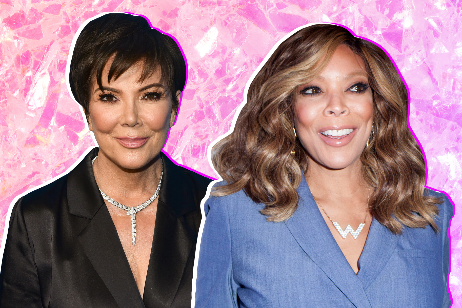 Kris Jenner and Wendy Williams