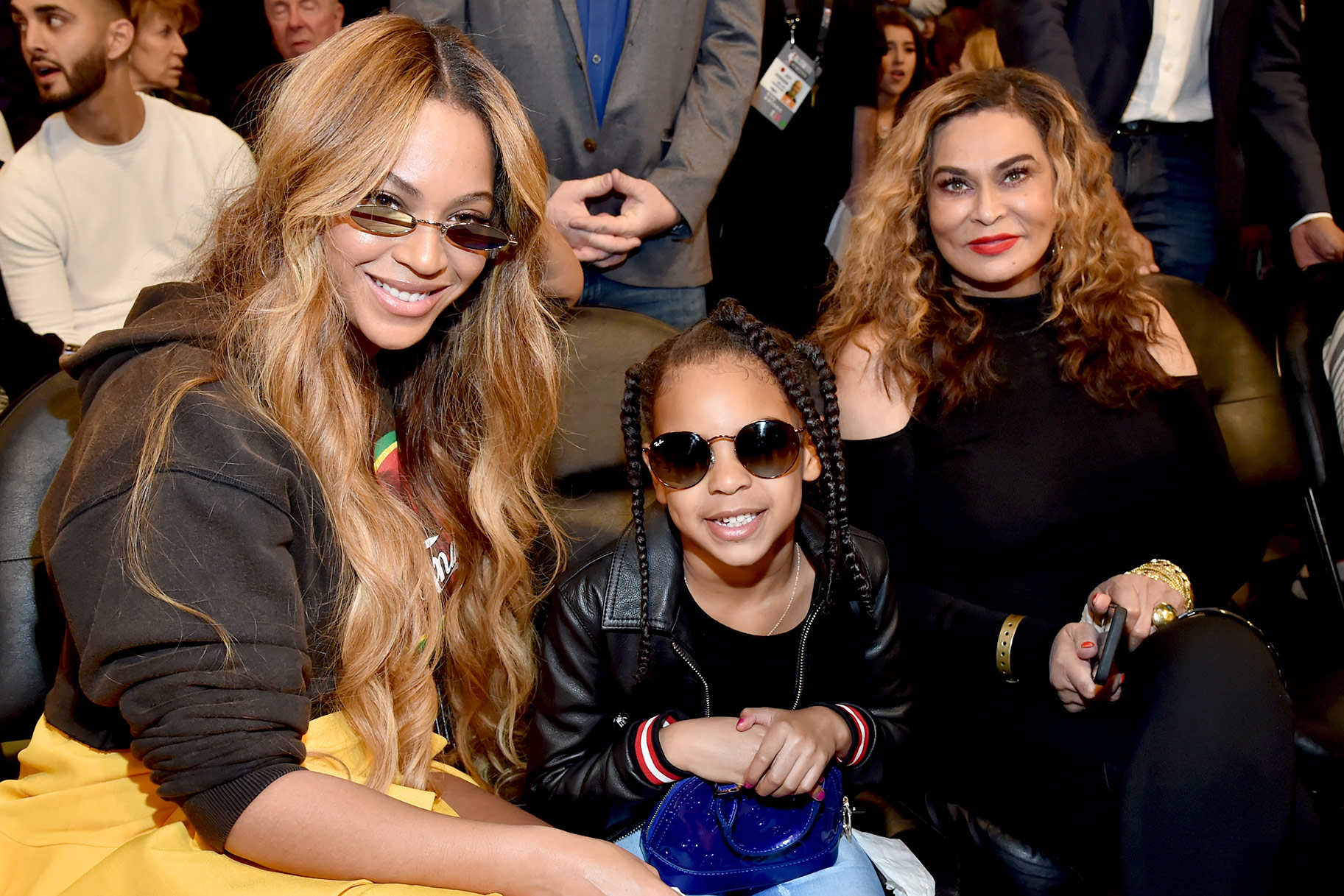 Beyonce, Tina Knowles, Blue Ivy