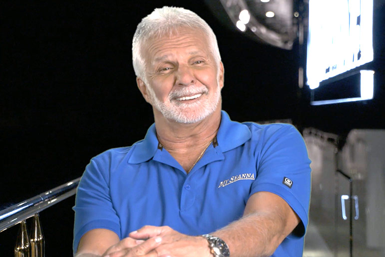 Captain Lee Rosbach on Below Deck