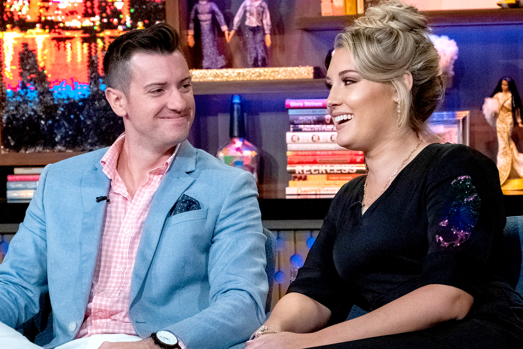 Colin Macy O'Toole and Hannah Ferrier on Watch What Happens Live with Andy Cohen