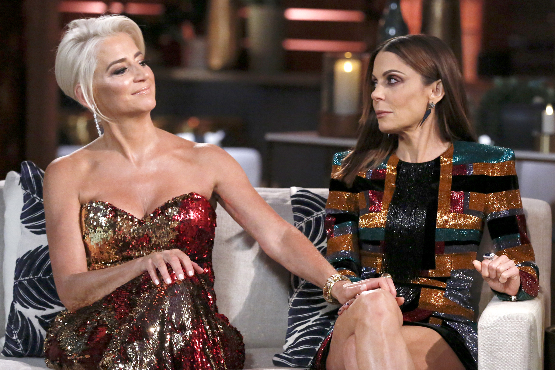 Dorinda Medley, Bethenny Frankel at The Real Housewives of New York City Season 11 Reunion
