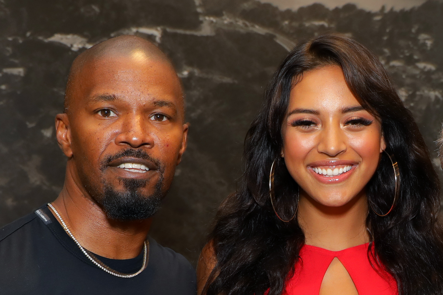 Jamie Foxx and Sela Vave