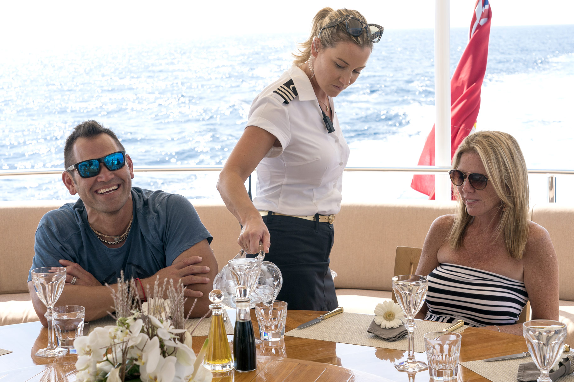 Johnny Damon on Below Deck Mediterranean