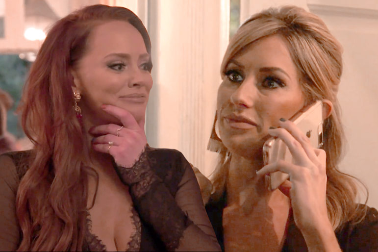 Kathryn Dennis and Ashley Jacobs in Southern Charm Season 6 Finale