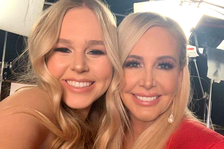Shannon Storms Beador with Daughter Sophie Beador