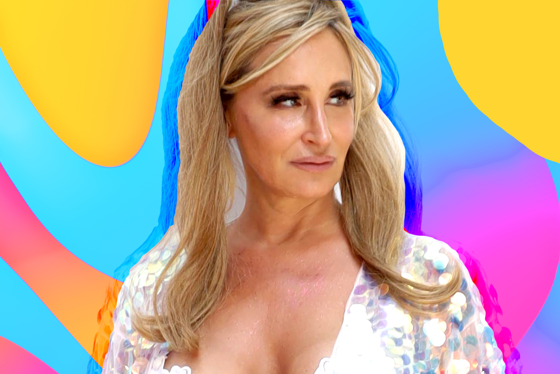 Sonja Morgan Makeup-Free