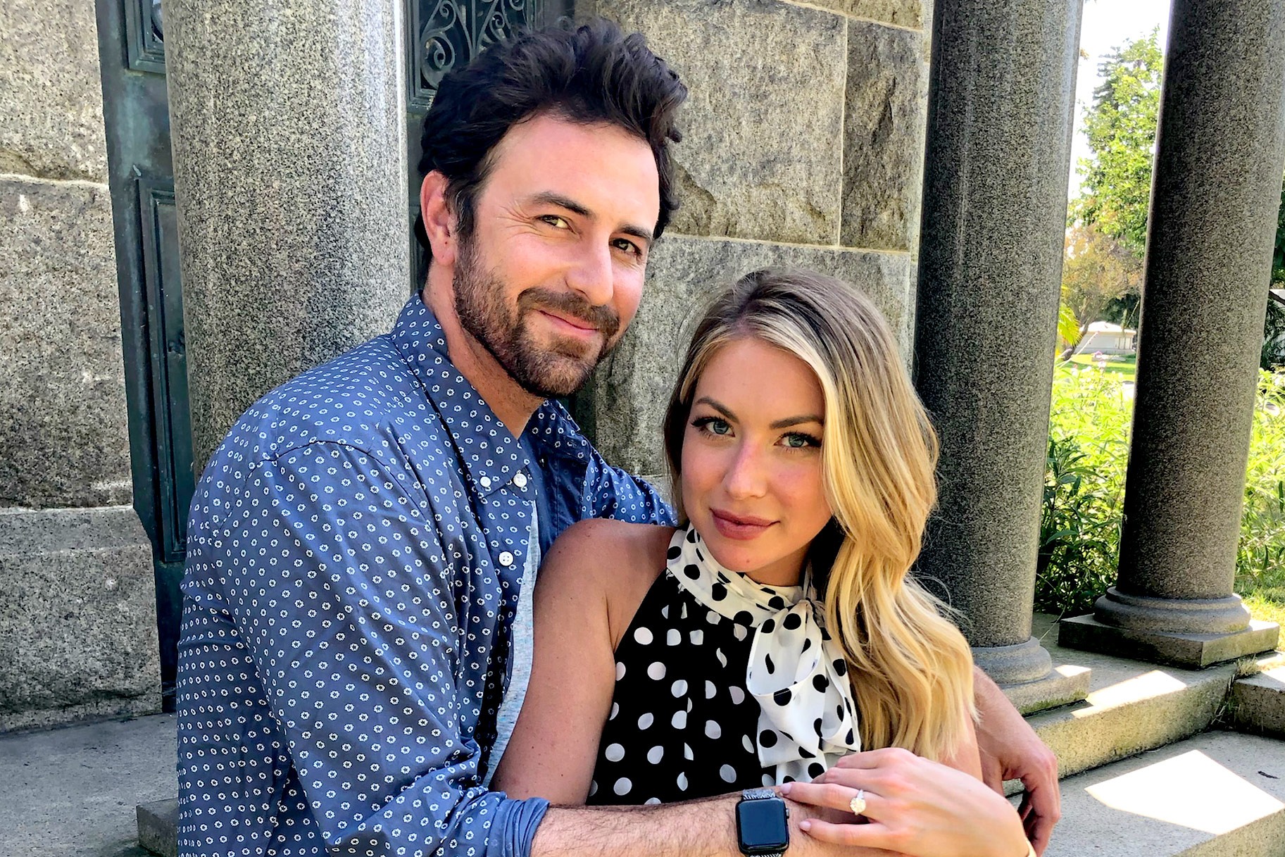 Stassi Schroeder and Beau Clark engaged