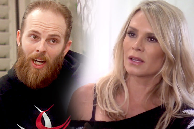 Tamra Judge's sons Ryan Vieth, Spencer Barney fight politics