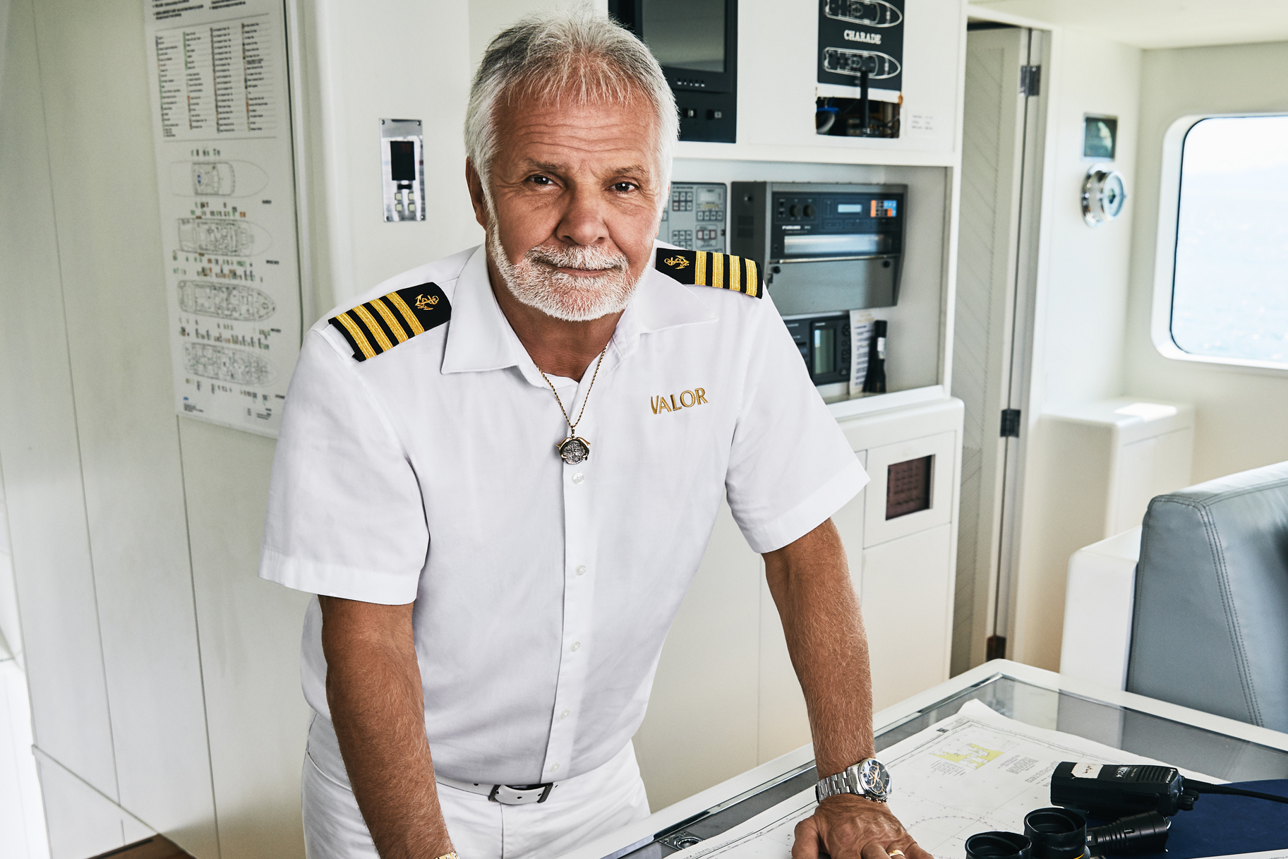 Captain Lee Rosbach Below Deck Season 7 Cast Photo