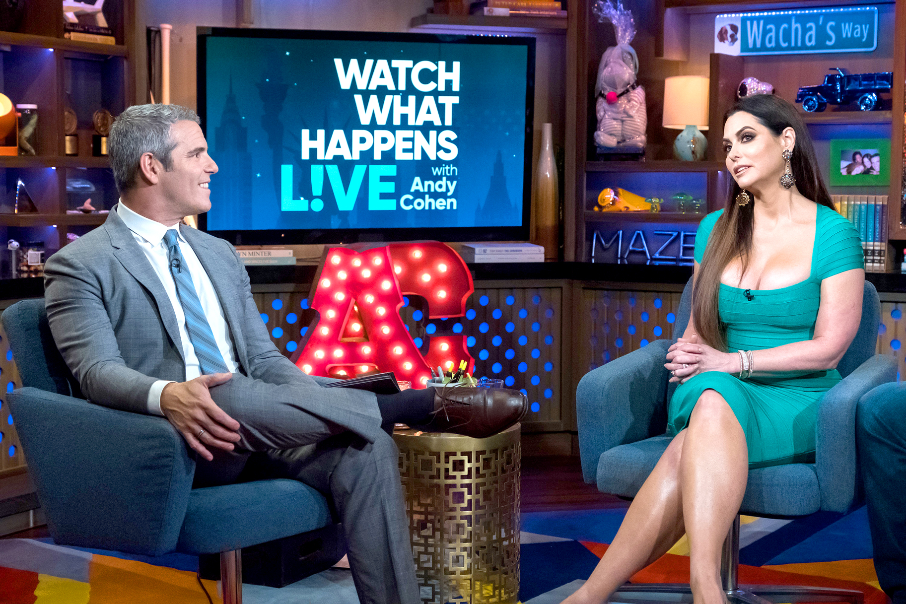 Dandra Simmons Andy Cohen