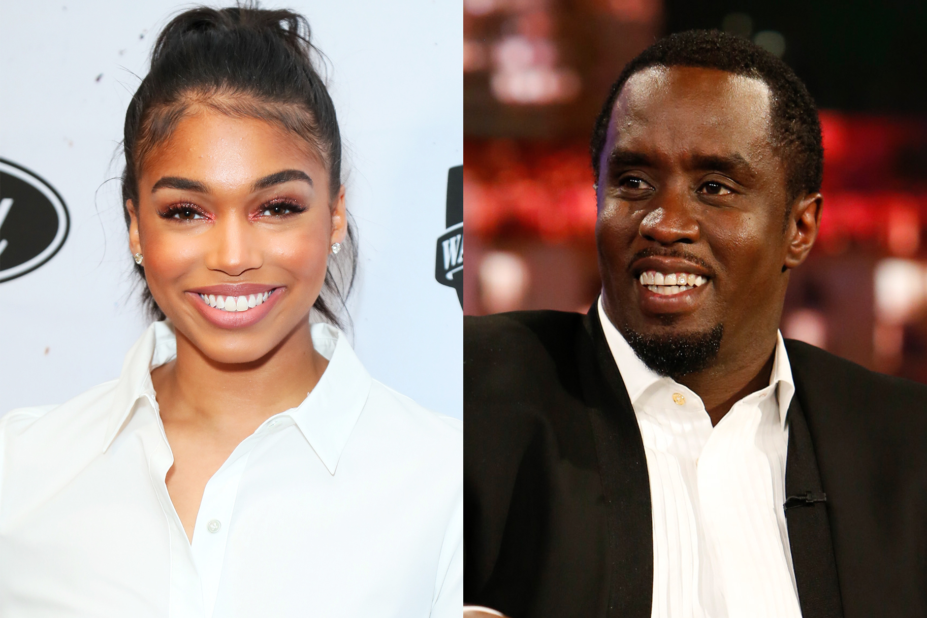 Diddy Lori Harvey Belly Touching