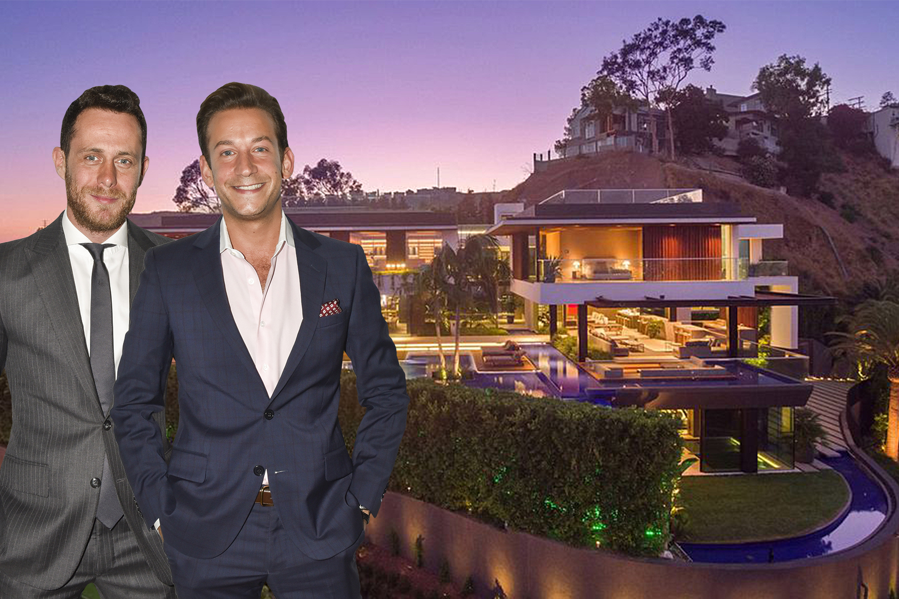 James Harris David Parnes Hollywood Hills Home