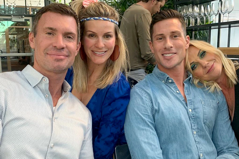 Jeff Lewis with Boyfriend Scott Anderson