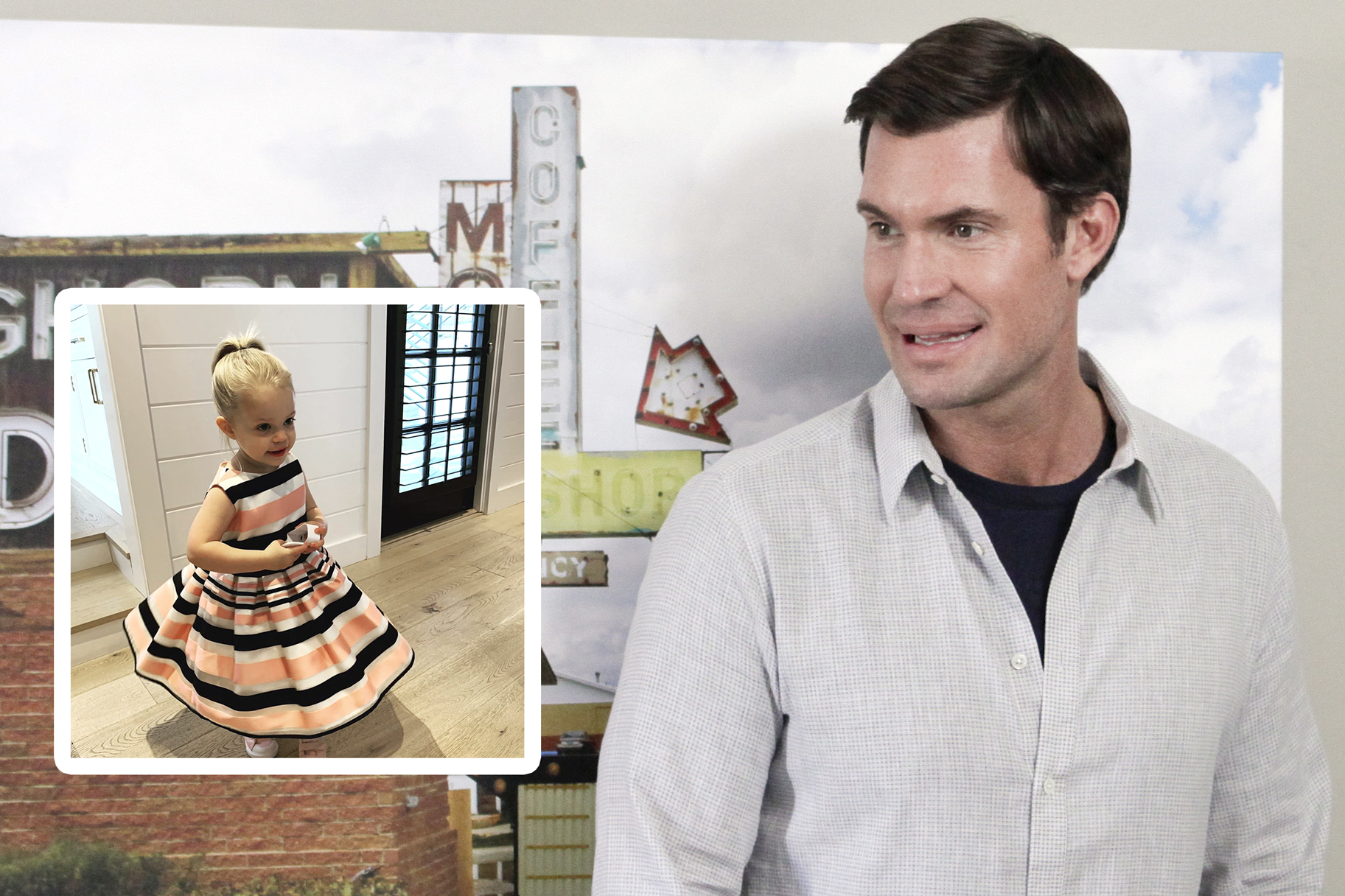 Jeff Lewis, Daughter Monroe
