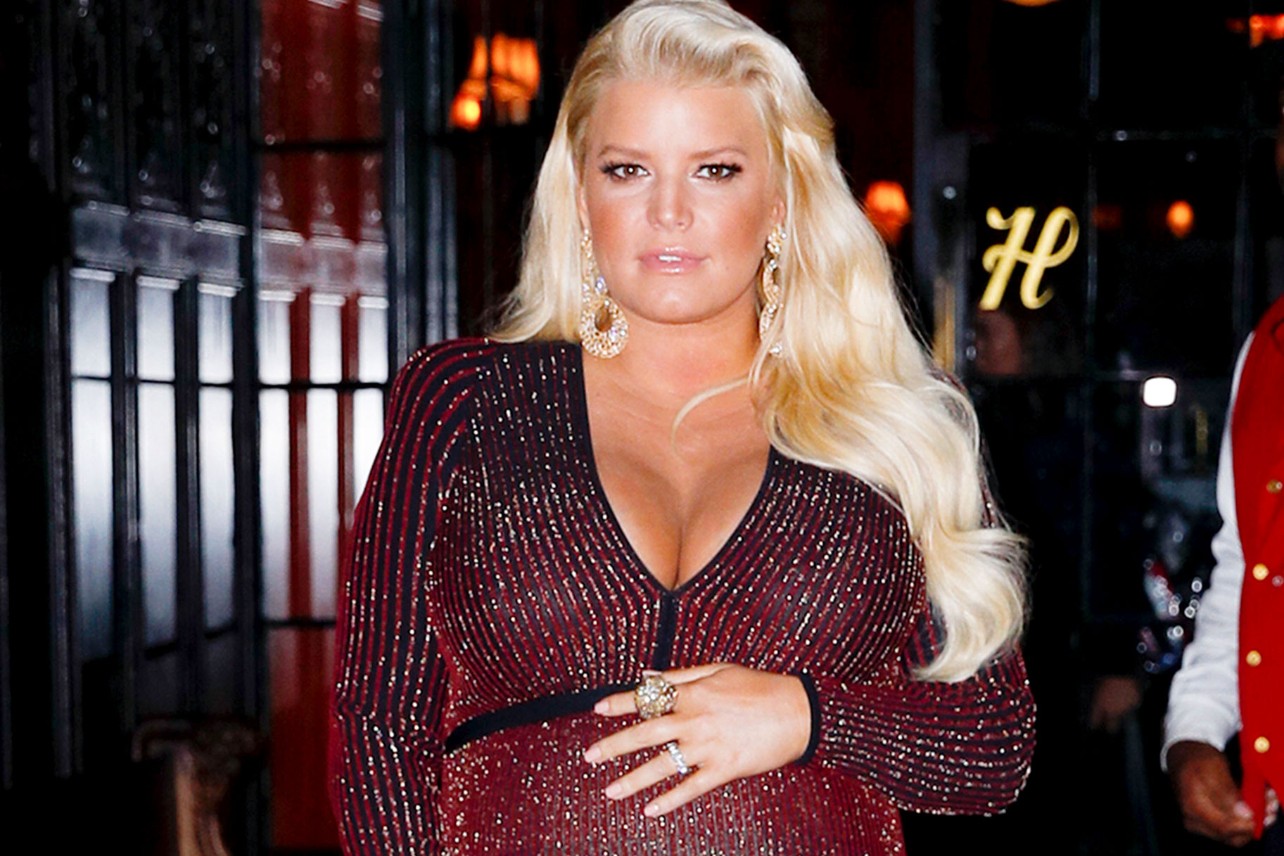 Jessica Simpson Baby Weight Loss