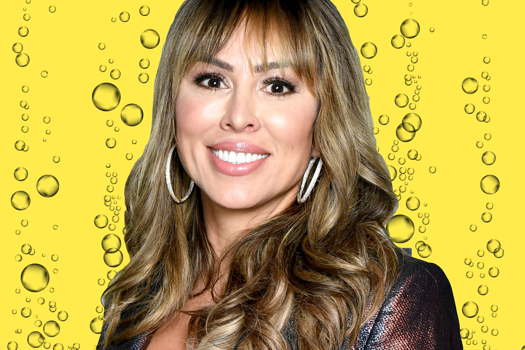 Kelly Dodd Champagne