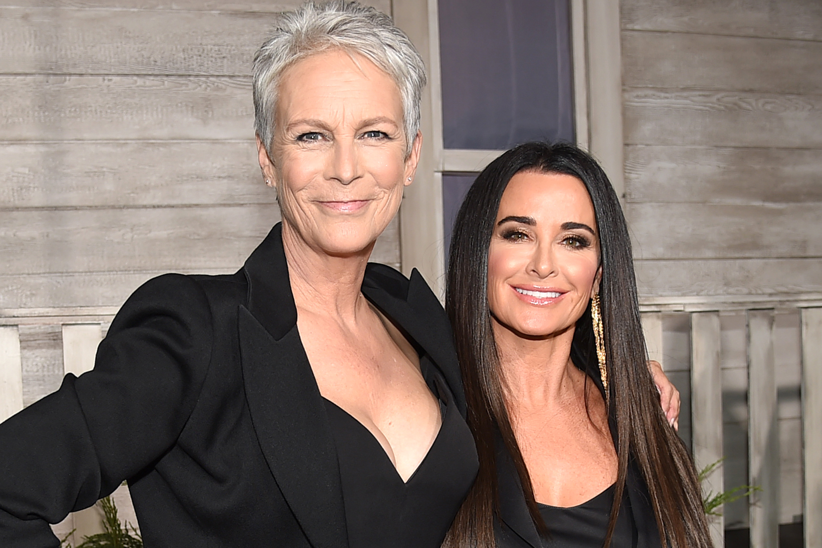 Kyle Richards, Jamie Lee Curtis